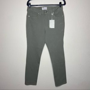 NWT EVERLANE 5 Pocket Performance Pant Green 31x30